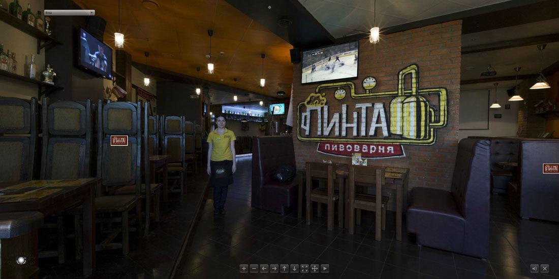 Виртуальный тур по бару Пинта