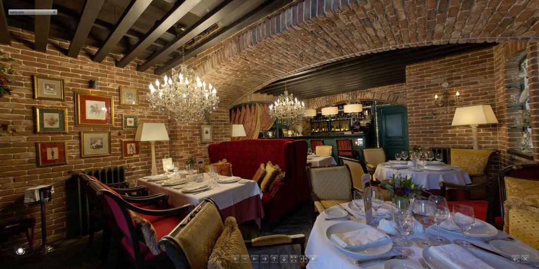 Виртуальный тур по ресторану Pinot Noir