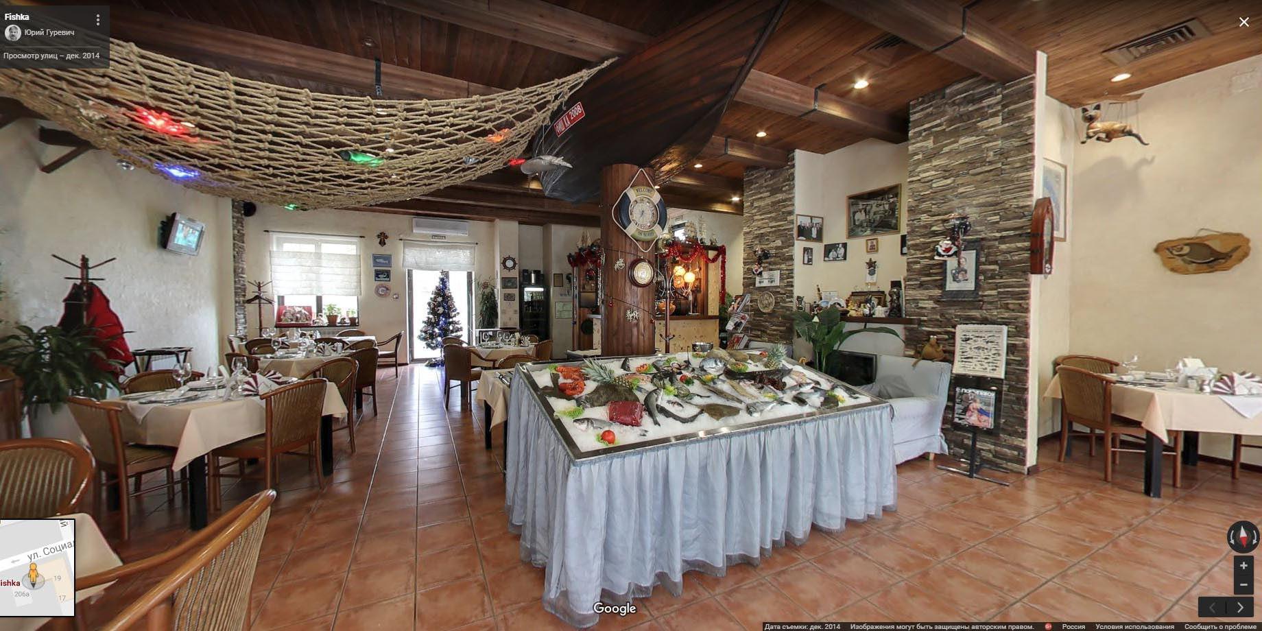 Fish-ка, ресторан в Ростове