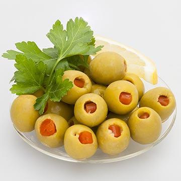 Оливки с лимоном. Food съемка. Фотографическое агентство GurFoto.Ru