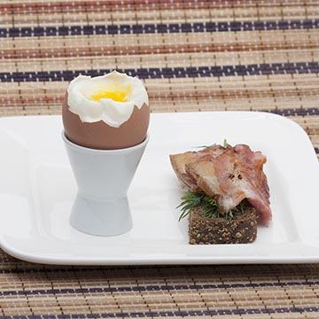 Яичница с беконом, food съемка