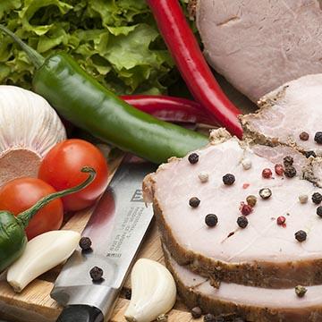 Запеченное мясо. Food съемка. Фотографическое агентство GurFoto.Ru