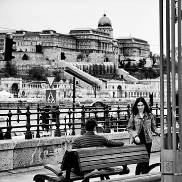 Вид на здание Национальной галереи Будапешт. Фотографическое агентство GurFoto.Ru