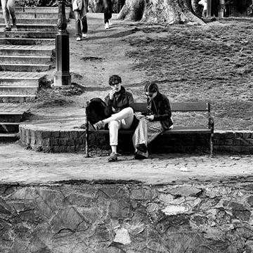Парк. Площадь героев. Будапешт. Фотографическое агентство GurFoto.Ru