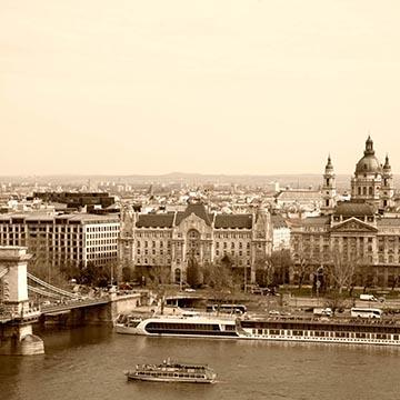 Вид на Дунай. Будапешт. Фотографическое агентство GurFoto.Ru