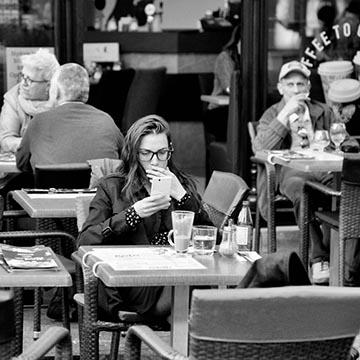 Кафе. Будапешт. Фотографическое агентство GurFoto.Ru