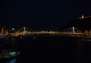 Дунай. Ночная съемка. Будапешт. Фотографическое агентство GurFoto.Ru