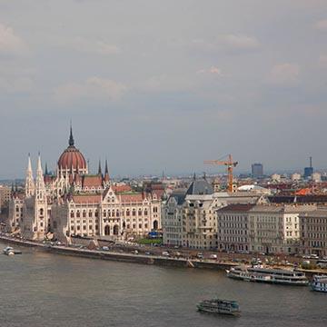 Вид на Парламент. Будапешт. Фотографическое агентство GurFoto.Ru