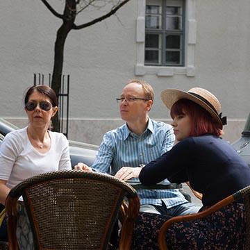 Соломенная шляпка. Будапешт. Фотографическое агентство GurFoto.Ru
