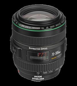 Беззеркальные камеры EF 70-300mm f/4.5-5.6 DO IS USM