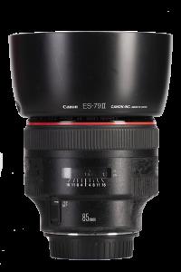 Беззеркальные камеры Canon EF 85mm f/1.2L II USM